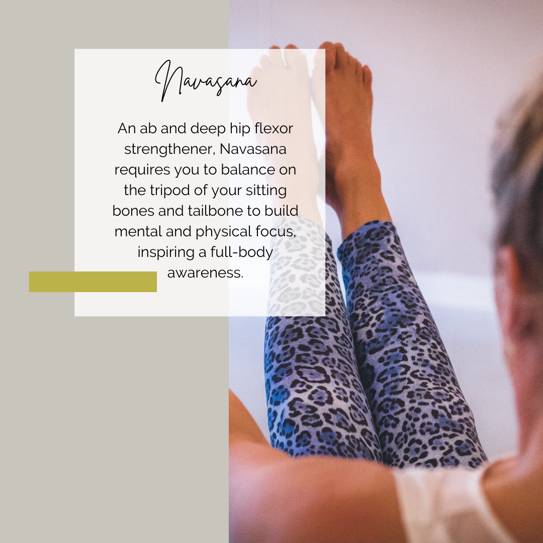 Yoga houding: navasana