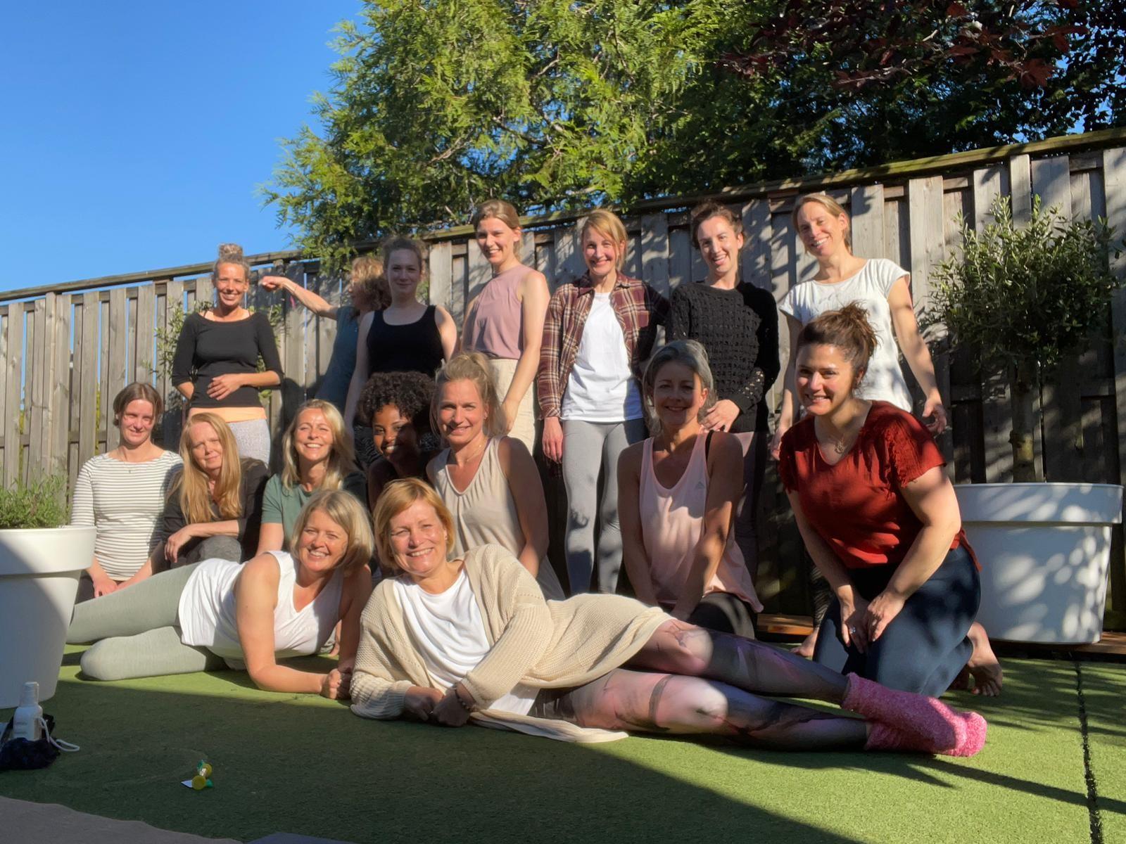 Yin Yoga Geslaagden