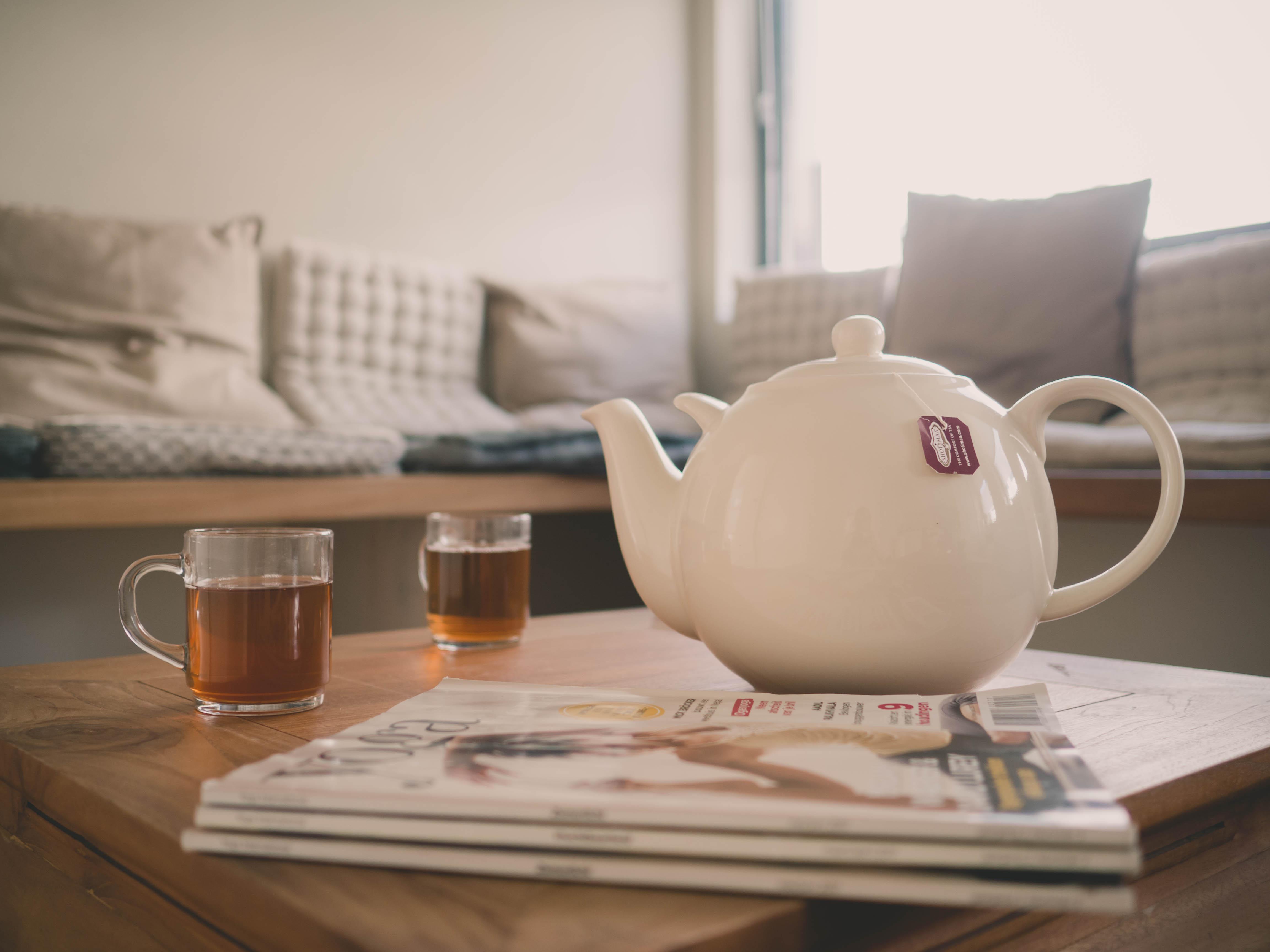 Relaxruimte thee