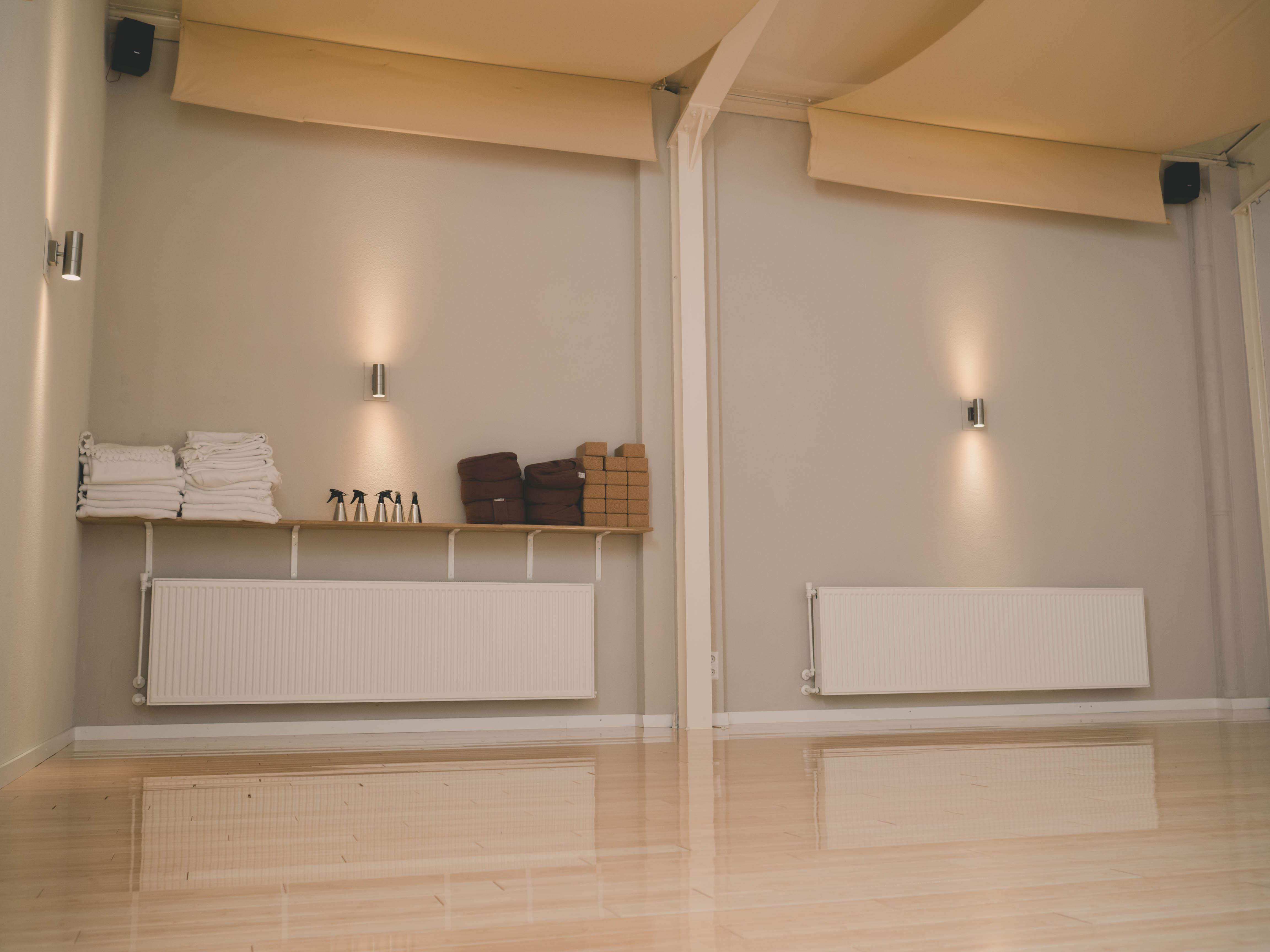 Kleine studio, meditatiekussens