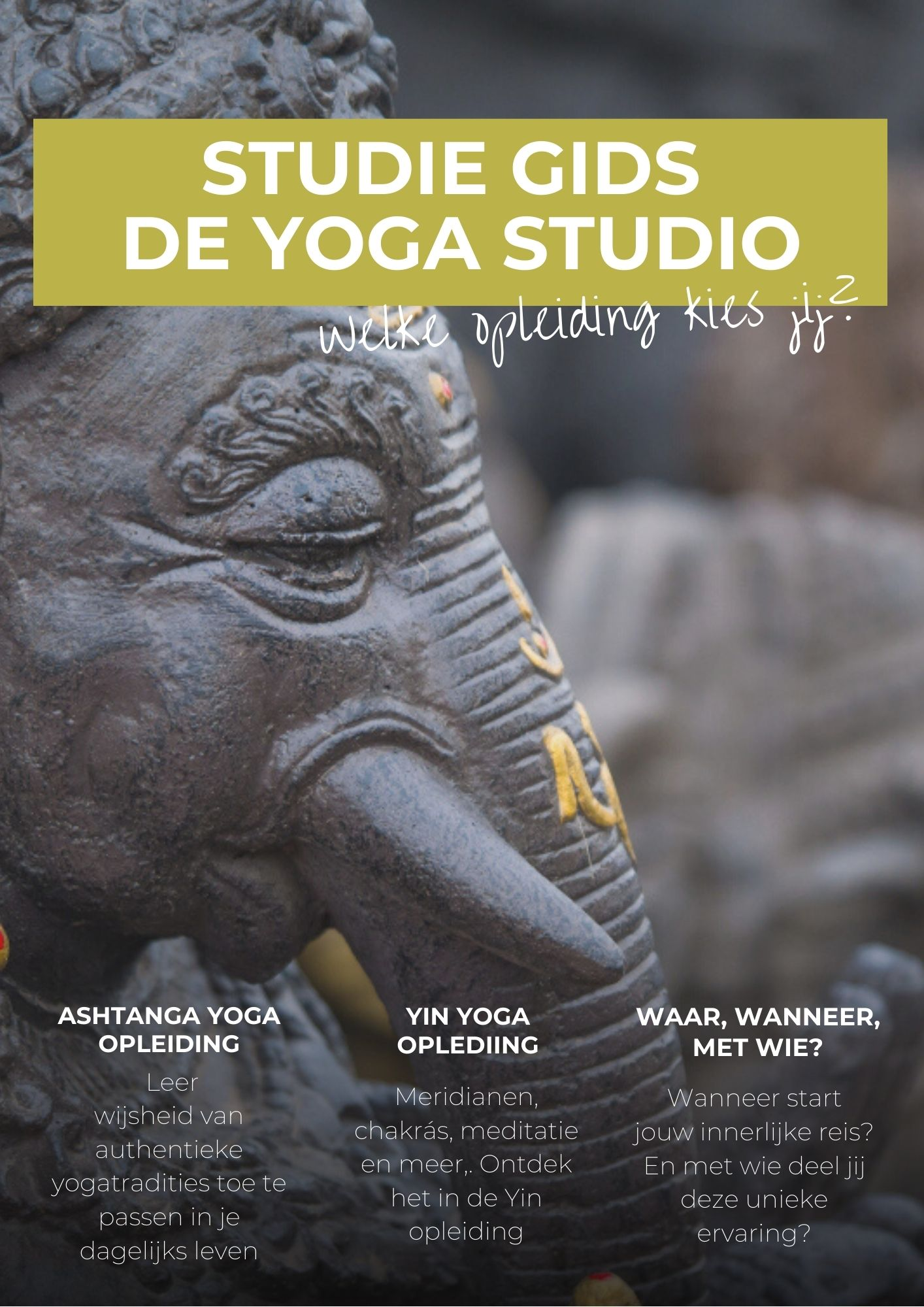 Vraag je studiegids aan opleidingen yogadocent